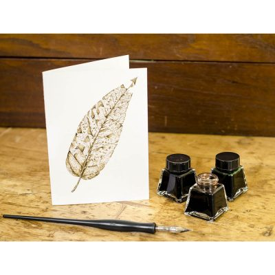 Be Leaf - Keepsake Cards by deGroot-Arts, the perfect gift.